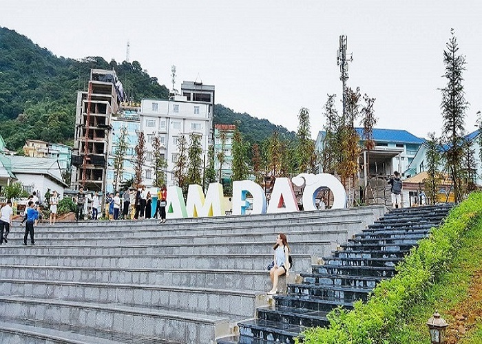 Quảng trường trung tâmTam Đảo