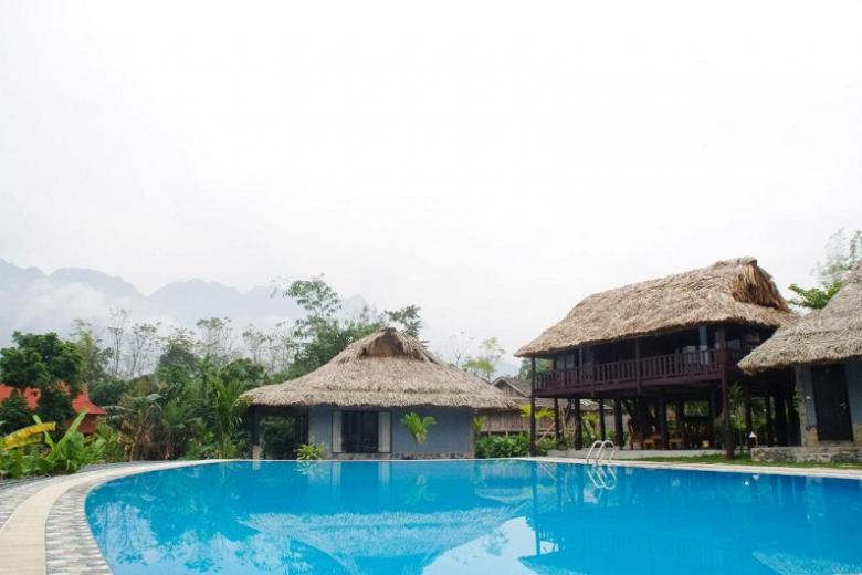 Combo Mai Châu 2N1Đ - Mai Châu Sky Resort 3.5* + Xe đưa đón