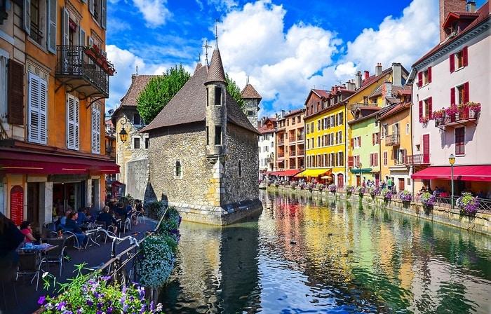 Vùng Annecy xinh đẹp
