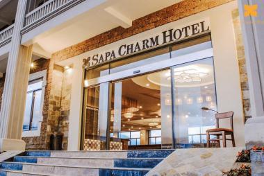 Combo Sapa 2N1Đ - Sapa Charm Hotel 4* + Xe đưa đón