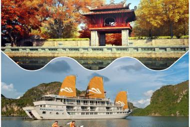 Combo Hà Nội + Hạ Long 4N3Đ - Paradise Cruise 5* + Ancient hotel 3* +VMB