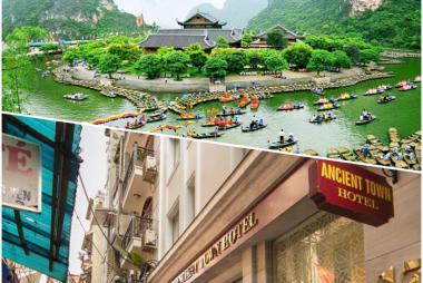 Combo Hà Nội - Ninh Bình 3N2Đ + Ancient Town 3* + Ninh Bình 1 Ngày + Vé MB