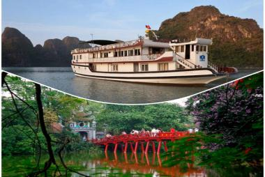 Combo Hà Nội + Hạ Long 4N3Đ - Camellia hotel 3* + Du thuyền Golden Star 3* + Vé MB