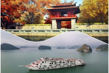 Combo Hạ Long + Hà Nội 4N3Đ - President Cruise 5* + La belle Vie Hotel 4* + VMB