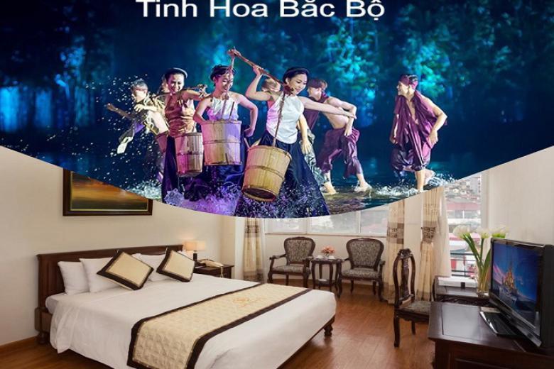 Combo Hà Nội 3N2Đ - Camellia 3 Sao + VMB + Tặng Show Tinh Hoa Bắc Bộ
