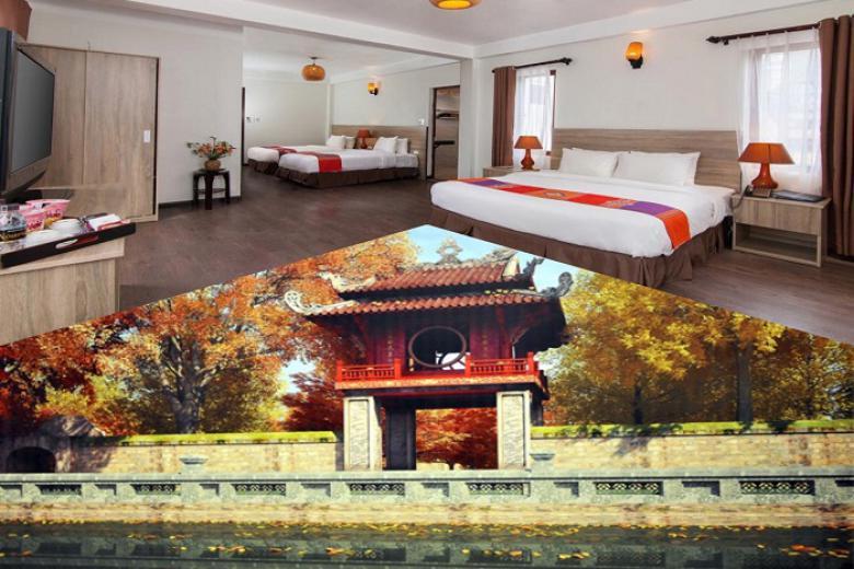 Combo Hà Nội + Sapa 4N3Đ  - Camellia hotel 3* + Chapa Dew Boutique 3 * + Vé MB + Miễn Phí Ăn Sáng.