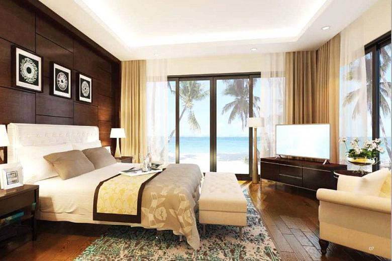 phòng ngủ Vinpearl Nha Trang