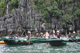 Trải nghiệm tour 1 ngày làm nghề chài lưới ở làng Vung Viêng Hạ Long