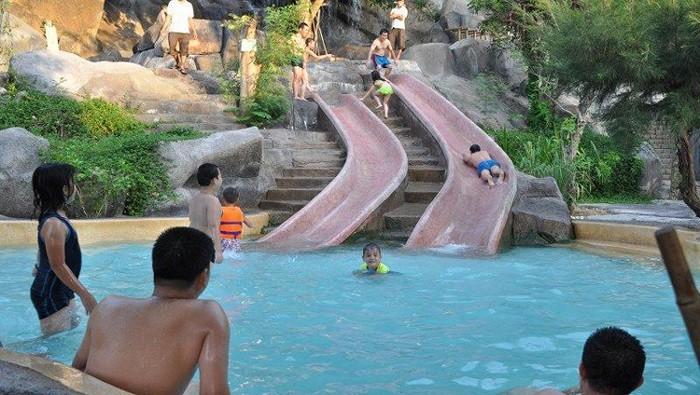 Thỏa thích vui chơi tại khu công viên nước