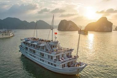 Tour Hạ Long 3N2Đ - Du Thuyền Paradise 5 sao Hạ Long