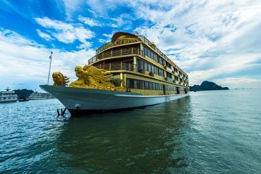 Tour Hạ Long 2N1Đ - Du thuyền Golden 5 sao