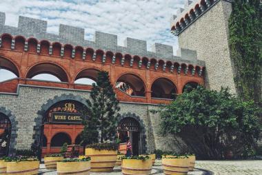 Vé Lâu đài rượu vang RD Phan Thiết
