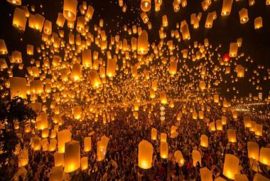 Vé Tham Gia Lễ Hội Thả Đèn Trời - Yee Peng 2019