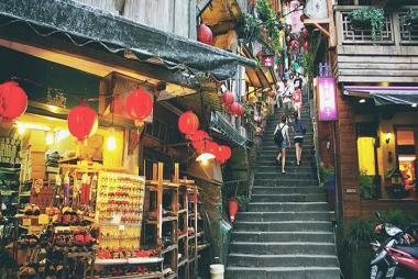 Tour Tham Quan Jiufen, Yehliu, Shifen 1N