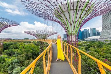 Vé Gardens by the Bay Singapore