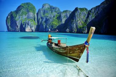 Tour Phuket - Đảo Phi Phi - Vịnh Phang Nga/City Tour 4N3Đ, KS 4*