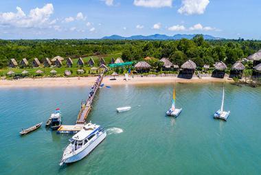 Tour Vũng Tàu - Tham Quan Cụm Cảng Thương Mại Dịch Vụ Biển Và Đảo Gò Găng 1 Ngày