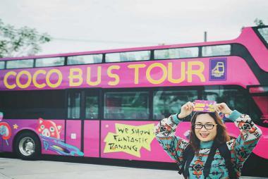 Vé Xe Bus 2 Tầng Đà Nẵng Coco Bus Tour