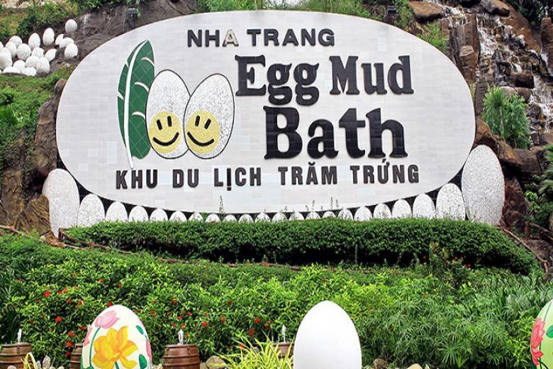 Khu du lịch Trăm Trứng Nha Trang - gói tắm khoáng