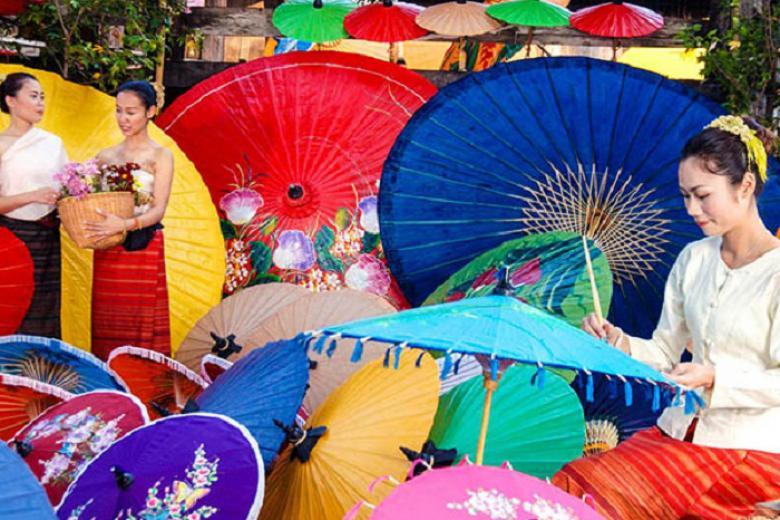 Làng nghề San Kham Paneang