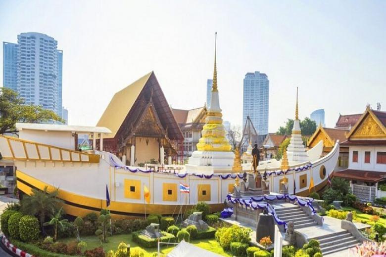 Chùa thuyền - Wat Yanawa