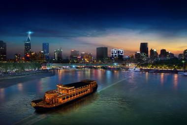 Voucher Bữa Tối Buffet Trên Du Thuyền Bonsai Cruise - Sông Sài Gòn