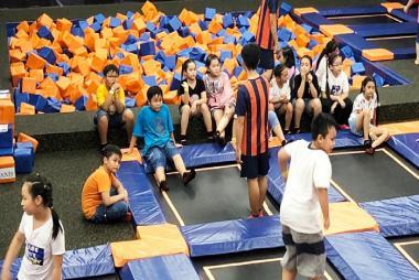 Vé Công Viên Giải Trí Bạt Nhún Jump Arena ở Hà Nội
