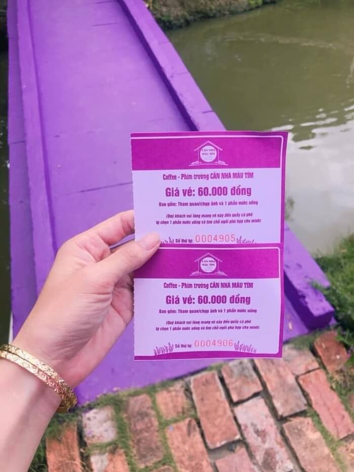 Purple House Can Tho - admission ticket