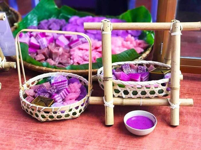 Căn nhà màu tím Cần Thơ - các loại bánh dân gian Nam Bộ