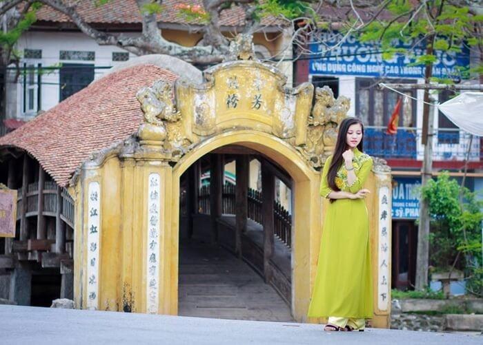 Cầu ngói Hải Hậu Nam Định - điểm check-in nổi tiếng của giới trẻ