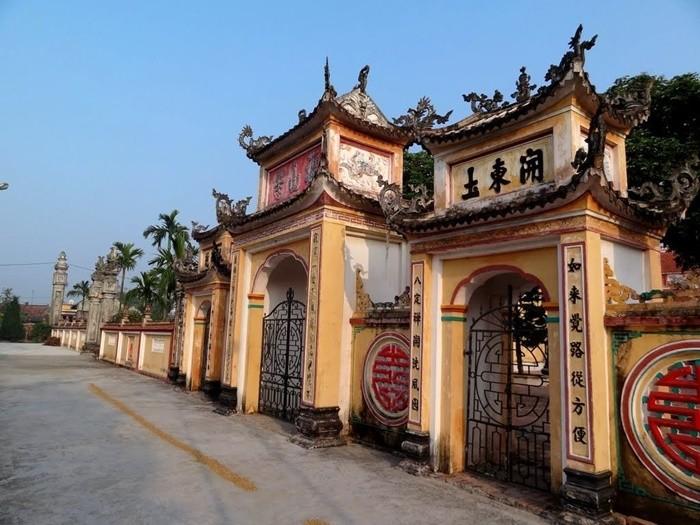 Chùa Lương Nam Định - kiến trúc chùa độc đáo