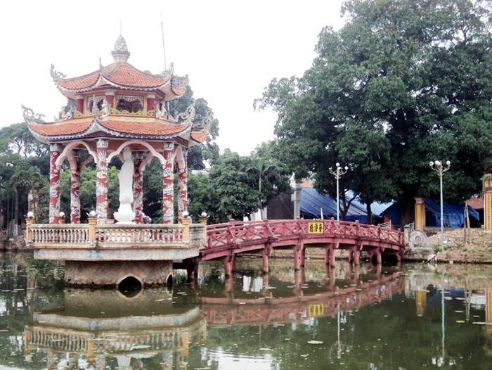Chùa Lương Nam Định - tượng quan thế âm