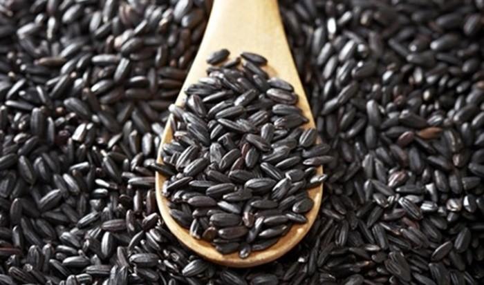 Đặc sản Thanh Sơn - gạo nếp cẩm