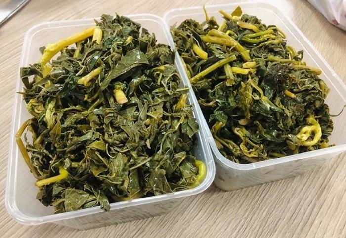 Đặc sản Thanh Sơn - rau sắn