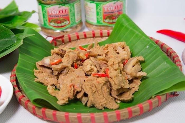 Đặc sản Thanh Sơn - thịt chua