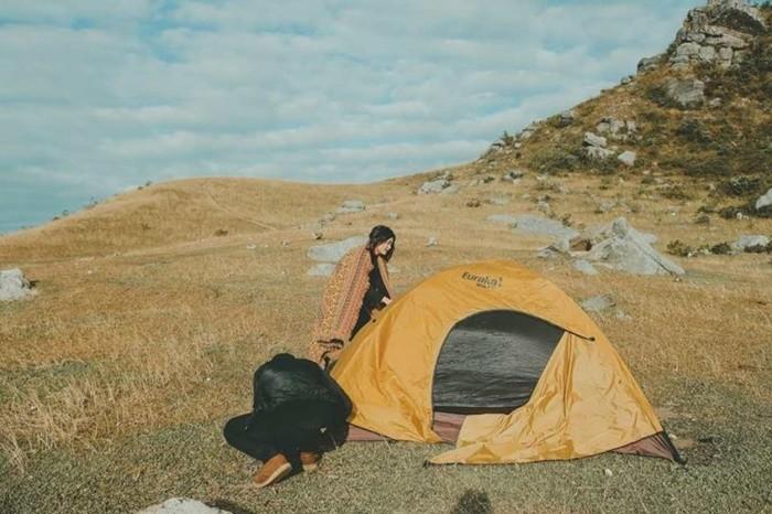 Điểm cắm trại gần Hà Nội - cao nguyên Đồng Cao - Bắc Giang