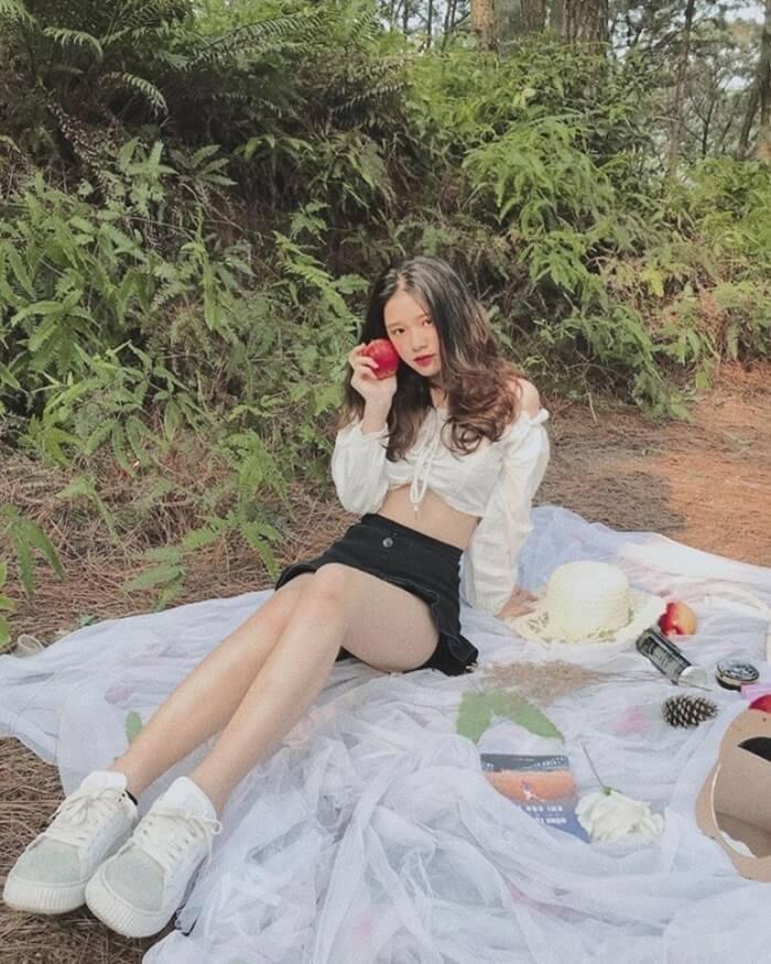 Điểm cắm trại gần Hà Nội - núi Hàm Lợn