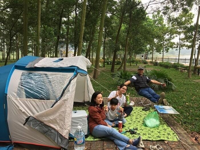 Điểm cắm trại gần Hà Nội - Đại Lải Vĩnh Phúc