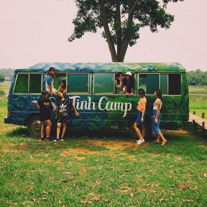 Điểm cắm trại gần Hà Nội - Sơn Tinh Camp 2