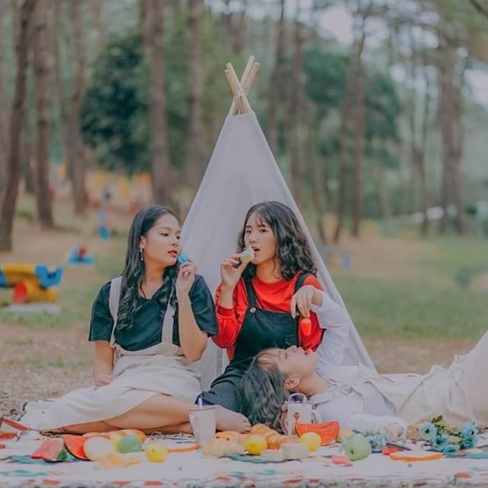 Điểm cắm trại gần Hà Nội - vườn quốc gia Ba Vì