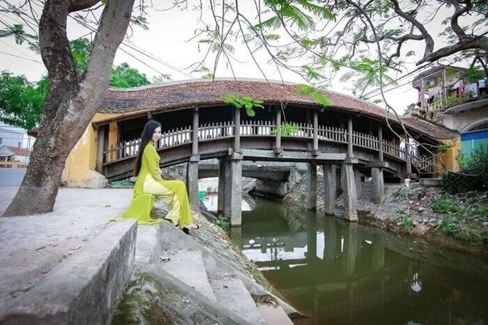 Địa điểm du lịch ở Hải Hậu - cầu ngói