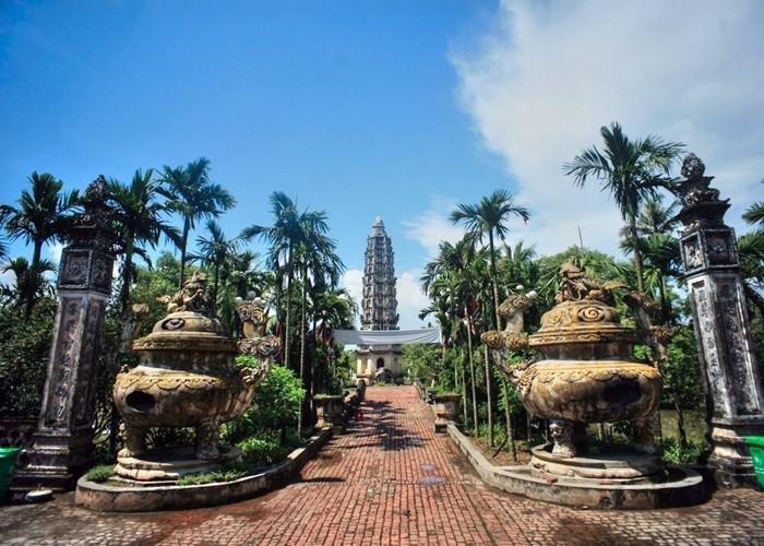 Điểm du lịch tâm linh ở Nam Định - chùa Cổ Lễ
