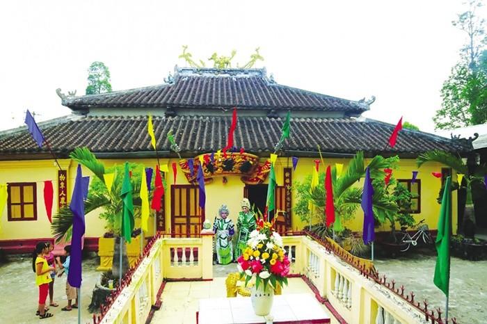 Lịch sử hình thành đình Tân Lộc Đông