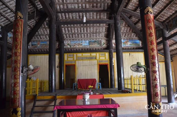 Đình Tân Lộc Đông - mang đậm kiến trúc Việt xưa