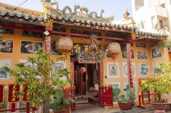 Đình Tân Lộc Đông - kiến trúc đặc sắc