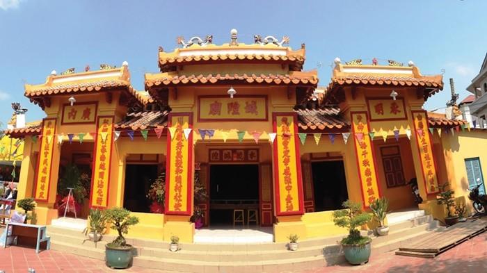 Đình Thạnh Hòa Thốt Nốt - kiến trúc hình chữ Nhất