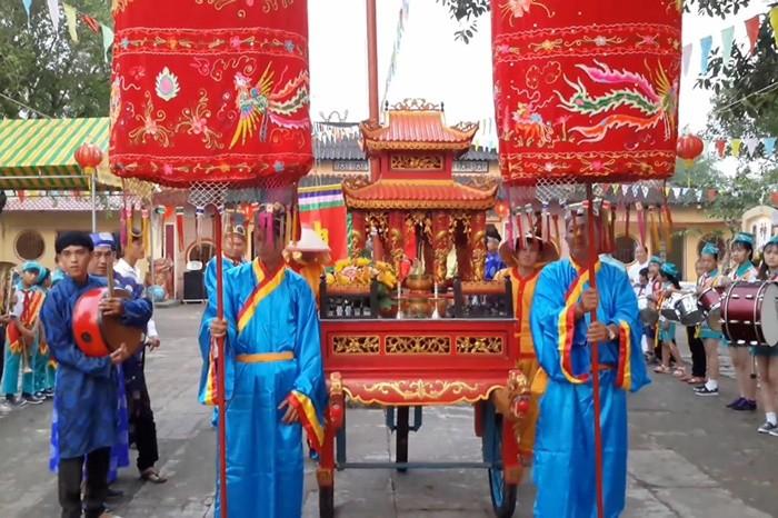 Lễ hội tại đình Thạnh Hòa Thốt Nốt
