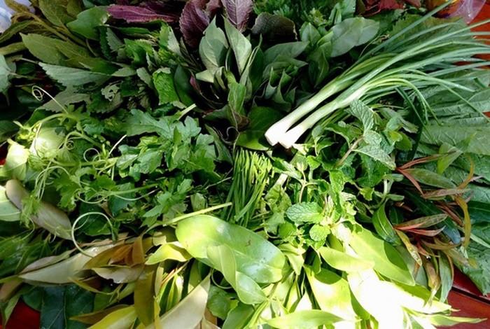 Kon Tum leaf salad - Tay Nguyen specialties