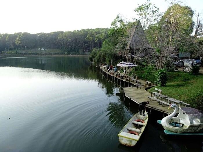 Hồ Đăk Ke Kon Tum - dịch vụ giải trí hấp dẫn