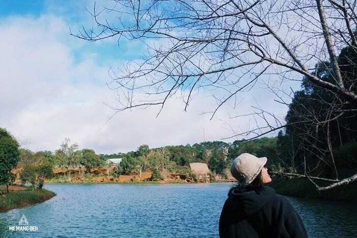 Hồ Đăk Ke Kon Tum đẹp nao lòng